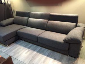 gran sofa tres modulos salon de tela